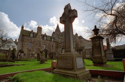 Celtic Cross at a Church