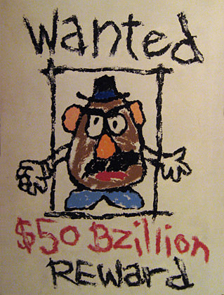 Mr. Potato Head WANTED!