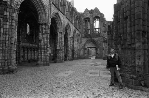 Dave at Holyrood Palace