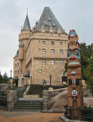 Disney Epcot's World Showcase: CANADA