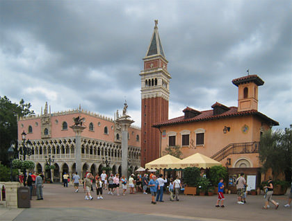 Disney Epcot's World Showcase: ITALY