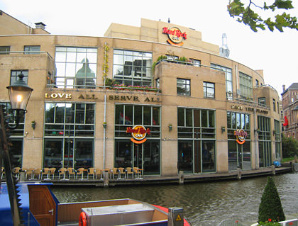 Hard Rock Cafe AMSTERDAM!