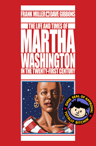Book Cover... The Life and Times of Martha Washington in the Twenty-First Century