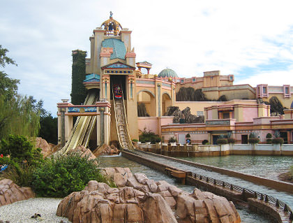 Sea World Atlantis Ride
