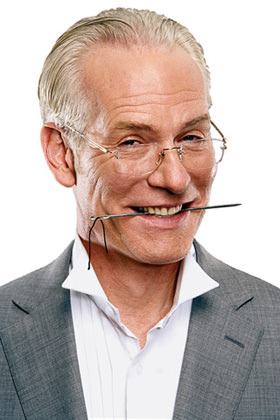It's Tim Gunn from Project Runway!