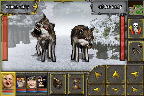 Undercroft for iPhone White Wolves Attack!