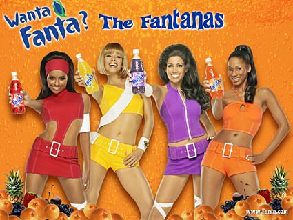 The beautiful Fantana girls.
