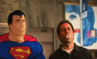 Jerry Seinfeld and Superman