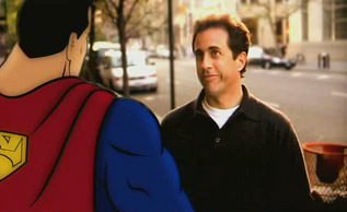 Jerry Seinfeld and Superma
