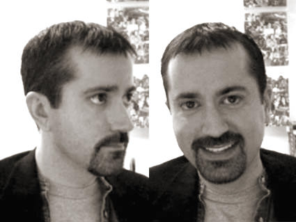 Me with a goatee!