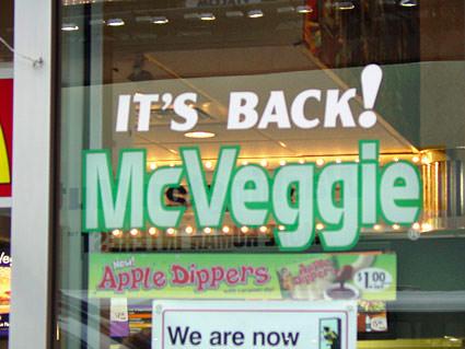 Veggie Back!
