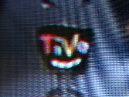 The freaky-ass TiVo logo.