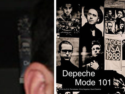 Depeche Mode 101 concert film DVD