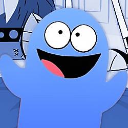 It's Bloo!