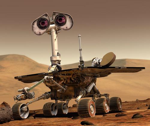 WALL-E Spirit Rover