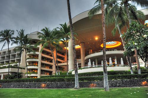 Hapuna Prince Hotel HDR Photo