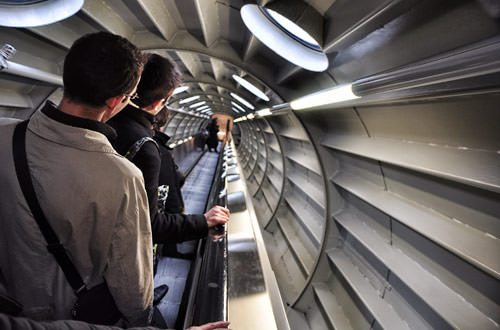 Atomium Interior Stairs