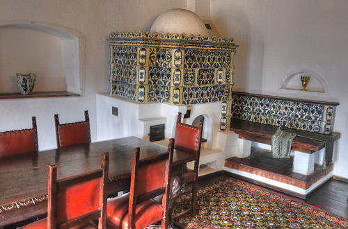 Dracula's Bran Castle Dining Room