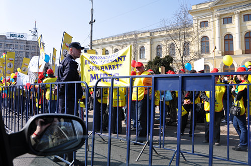 Teacher's Strike in Bucharest