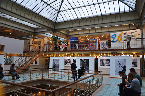 Belgian Comic Strip Center: Inside