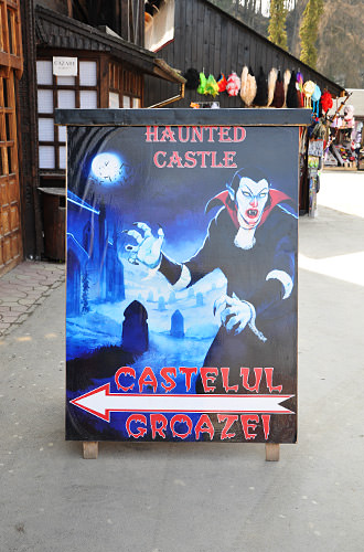 Dracula's Bran Castle Attraction