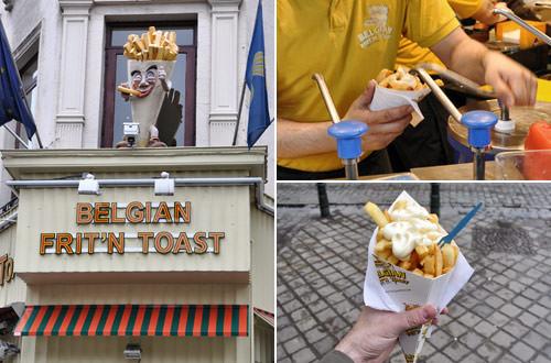 Frites avec Mayo!!