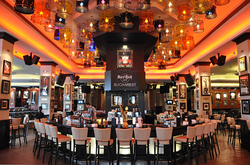 Hard Rock Cafe Bucharest Interior
