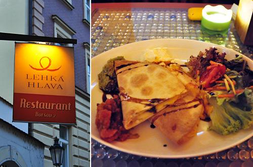 Lehká Hlava Restaurant in Prague