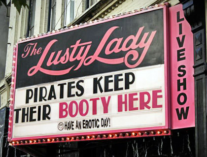 Lusty Lady Marquee Seattle