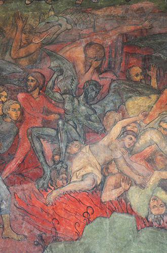 Metropolitan Church Fresco Hell