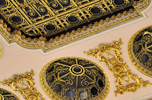 Palace of the Parliament Bucharest Design Detail