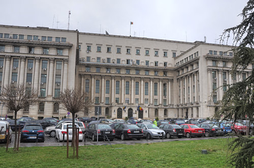 Central Committee Building in Bucharest