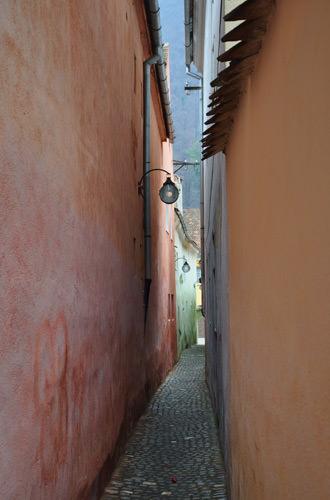 Strada Sforii - Strand Street - The Rope Street in Brasov, Romania