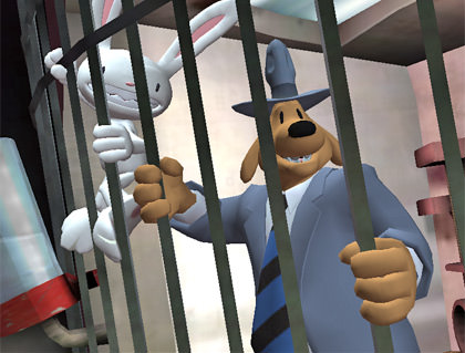 Sam and Max in Jail.