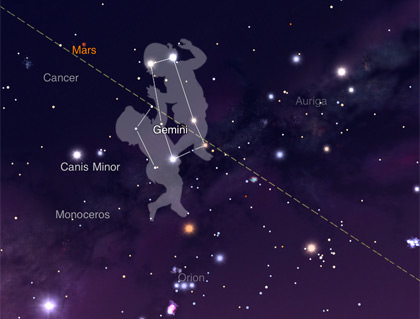 StarWalk Map Star Spotter Map View
