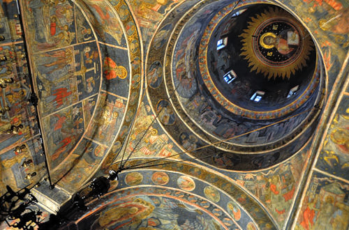 Stavropoleos Church Interior