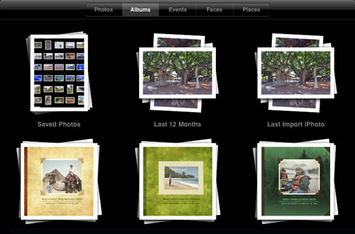 iPad Photo Album View