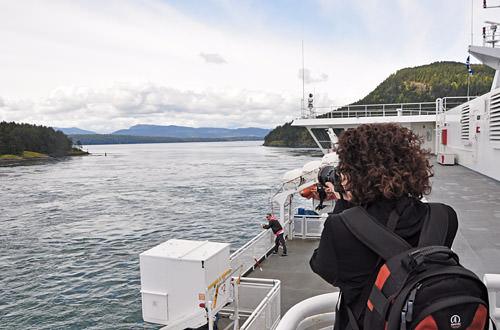 Jenny on the Ferry