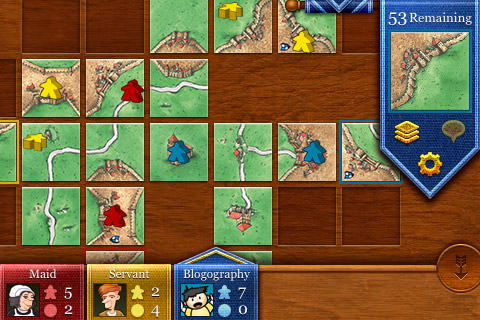 Carcassonne for iPhone