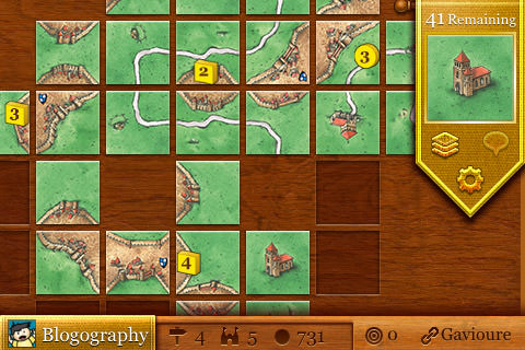 Carcassonne Solitaire