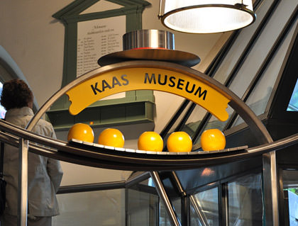 Cheese Museum Entrance