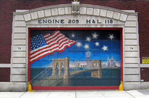Engine 205 Station in Brooklyn