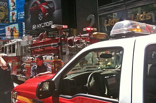Times Square Evacuation: The Sequel