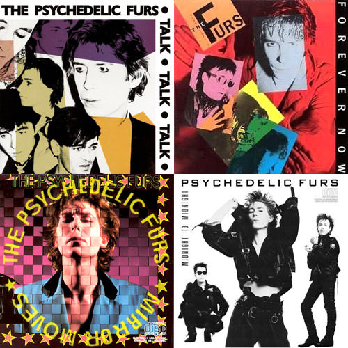 Psychedelic Furs Album Covers