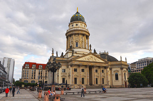 The German Cathedral at Gendarmenmarkt