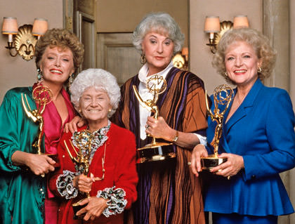 The Golden Girls win Emmys