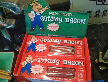 Gummy Bacon
