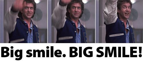 Mel Gibson Big Smile