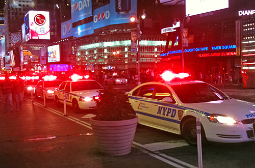 New York City's Finest in Times Square