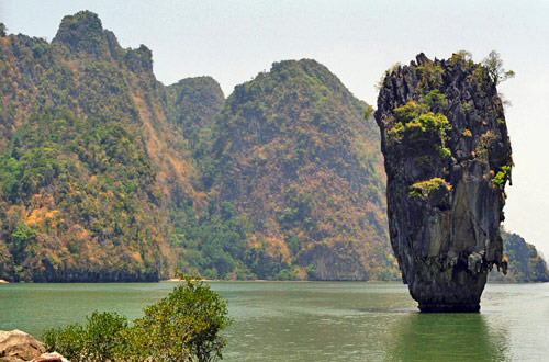 View from James Bond Island, Ko Khao Phing Kan